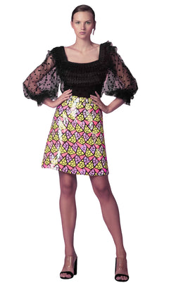Beside Couture ED161112LK Dress Black-Multicolor