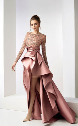 Gatti Nolli Couture ED4717ED4718 Dress Dusty-Rose