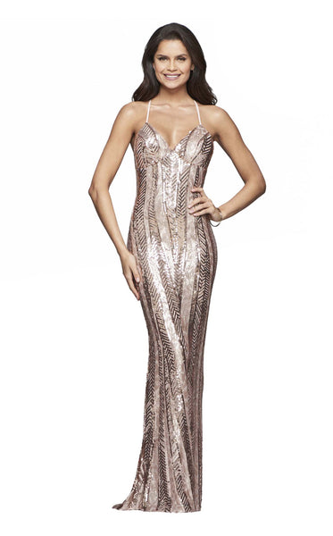 Faviana ES10112 Rose-Gold