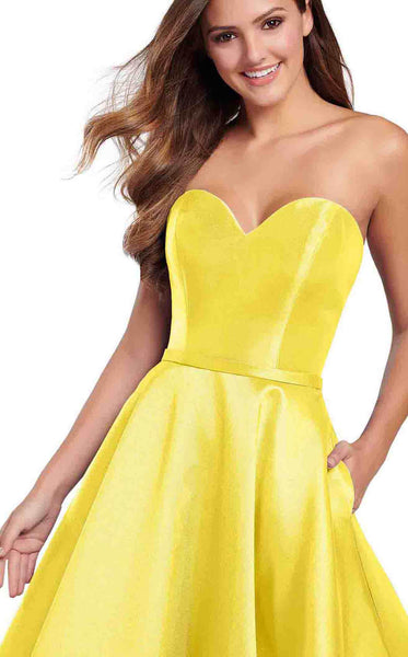 Ellie Wilde EW119186 Light-Yellow