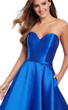 Ellie Wilde EW119186 Royal-Blue