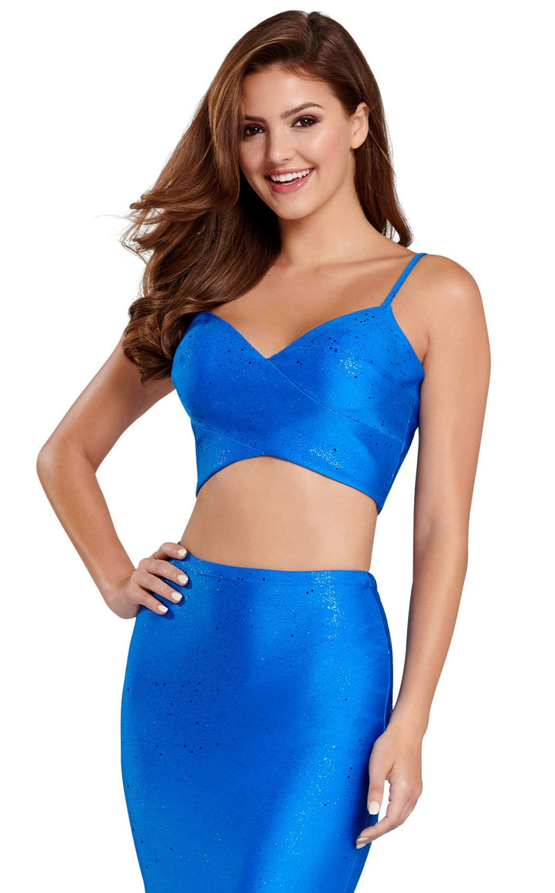 Ellie Wilde EW120025 Royal-Blue