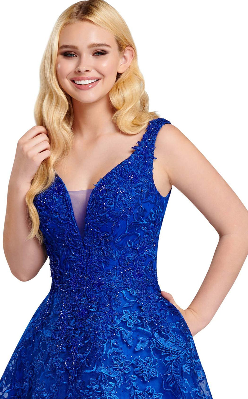 Ellie Wilde EW120026 Royal-Blue
