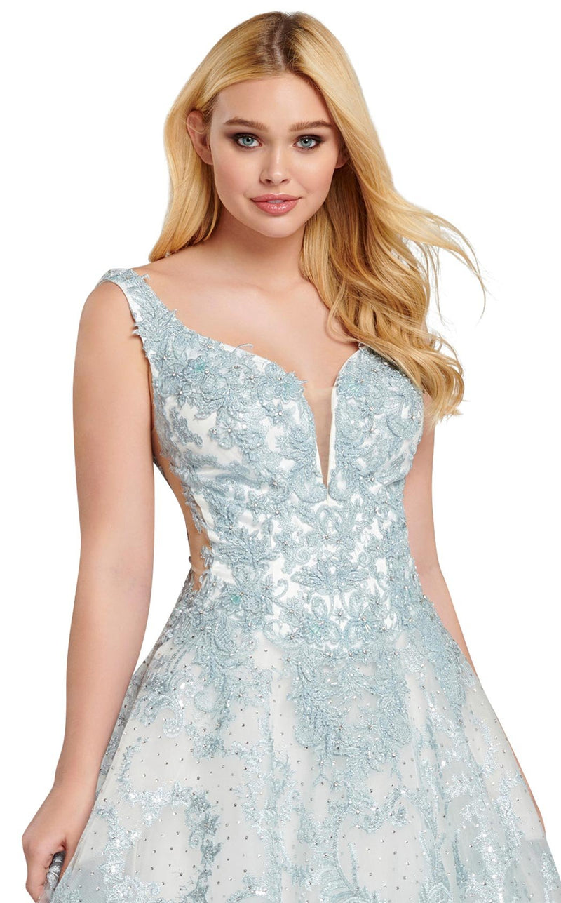 Ellie Wilde EW120149 Light-Blue