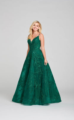 Ellie Wilde EW121010 Dress Emerald