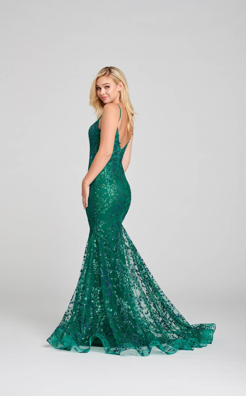 Ellie Wilde EW121011 Dress Emerald