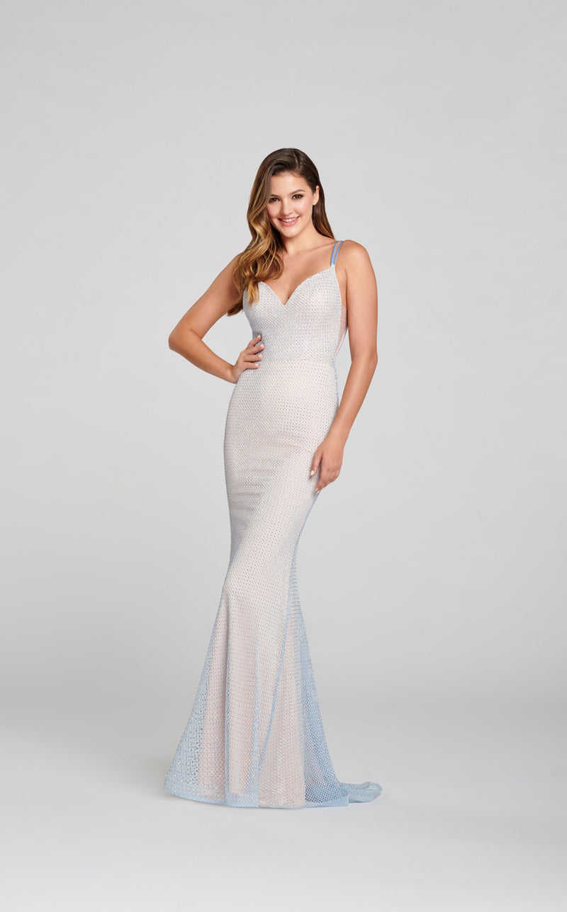 Ellie Wilde EW121025 Dress Opal
