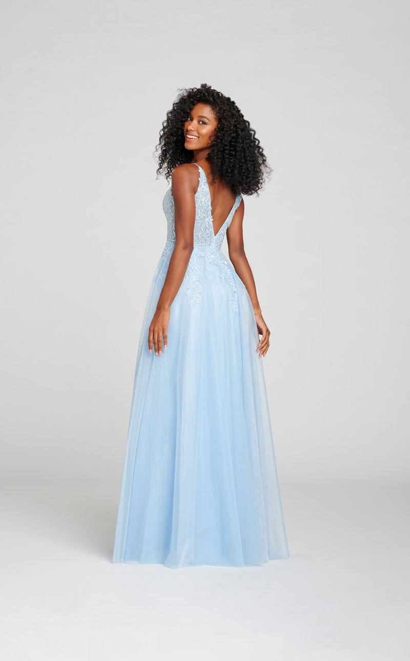 Ellie Wilde EW121059 Dress Light-Blue