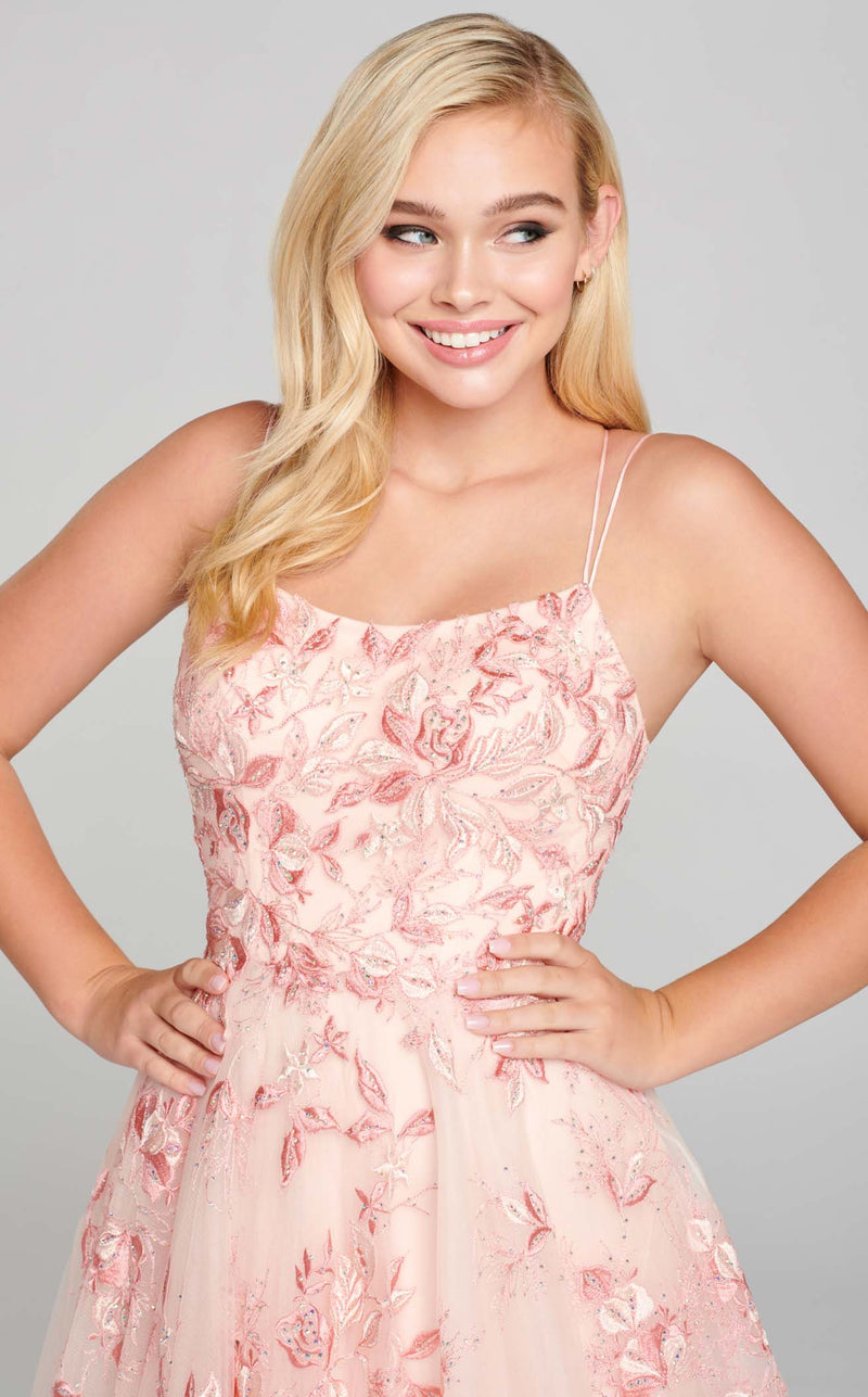 Ellie Wilde EW121066 Dress Pink