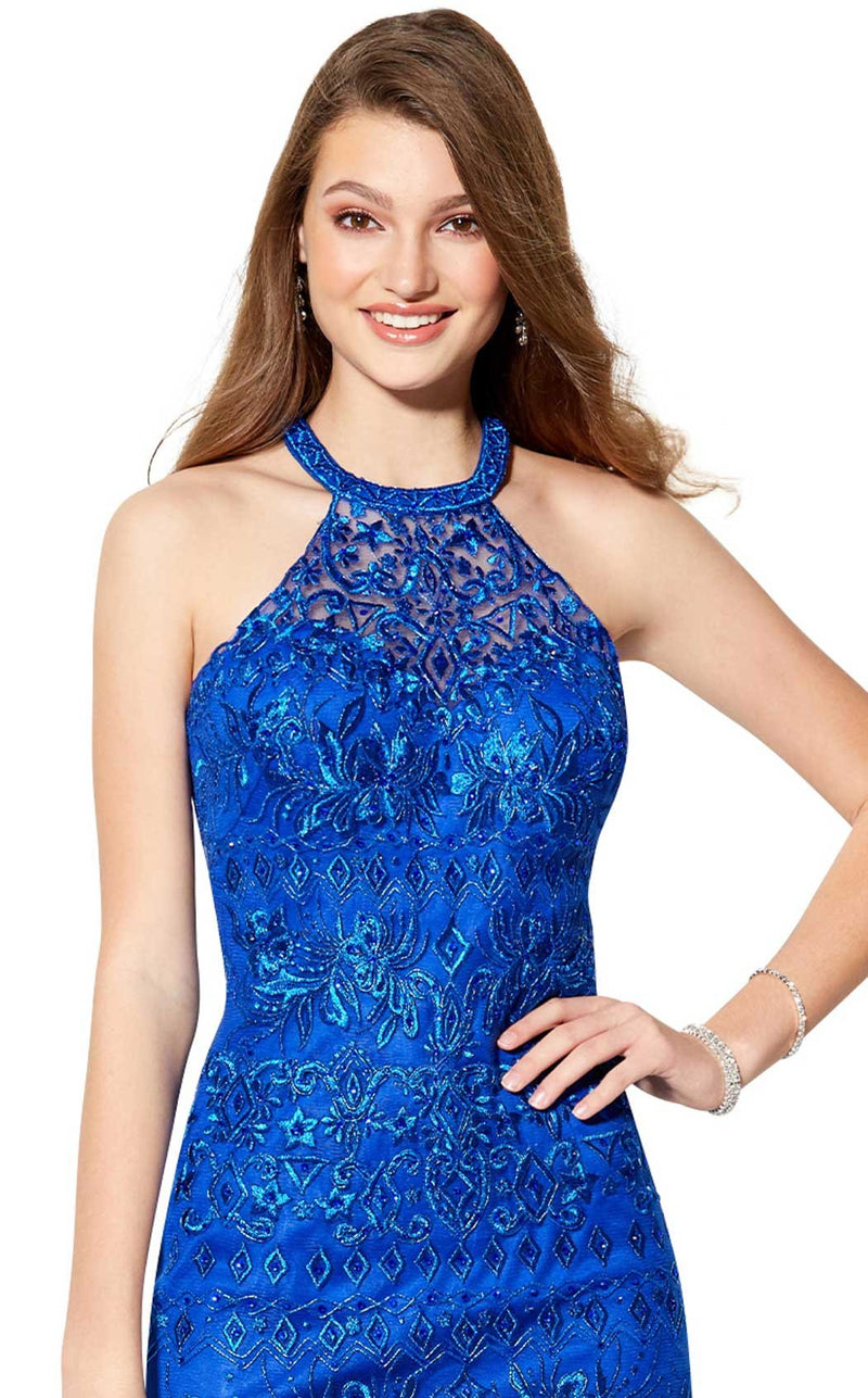 Ellie Wilde EW21906S Royal-Blue