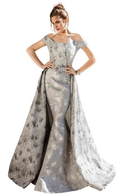 MNM Couture F00590 Grey