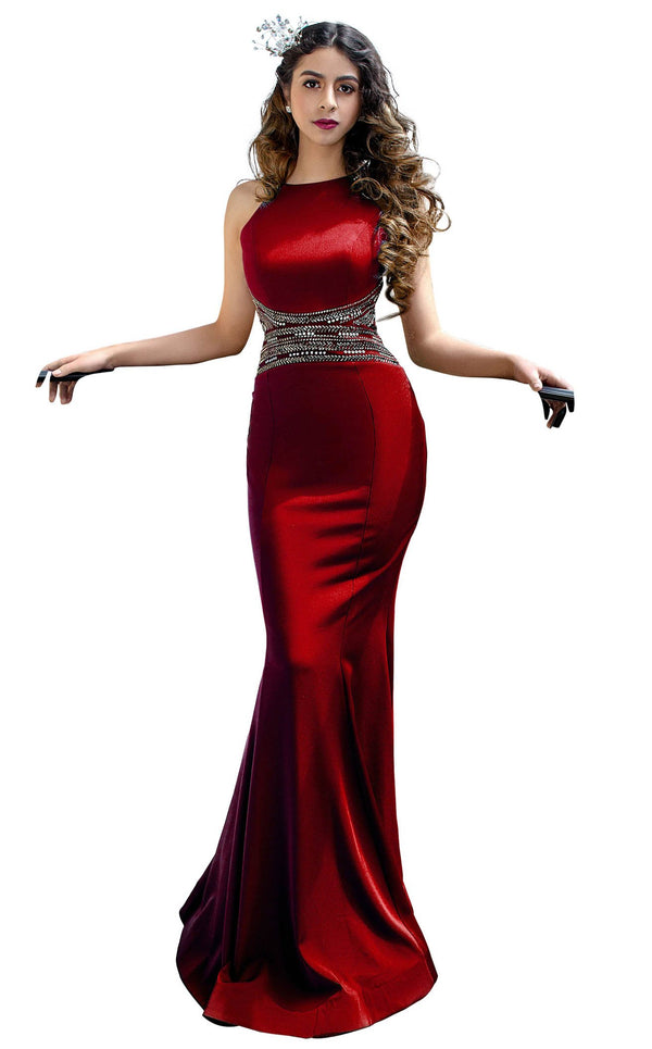 MNM Couture F4741 Red