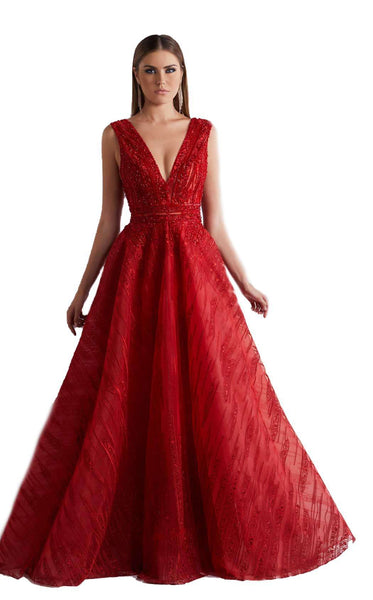 Azzure Couture 1047 Red