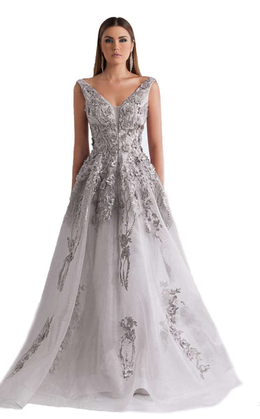 Azzure Couture 1055 Silver