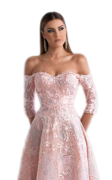 Azzure Couture 1072 Pink-Silver