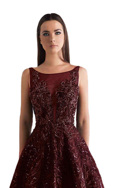 Azzure Couture 1856 Burgundy