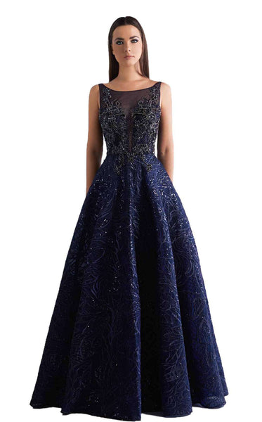 Azzure Couture 1856 Navy