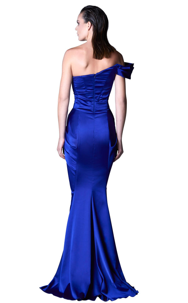 MNM Couture G1068 Royal-Blue