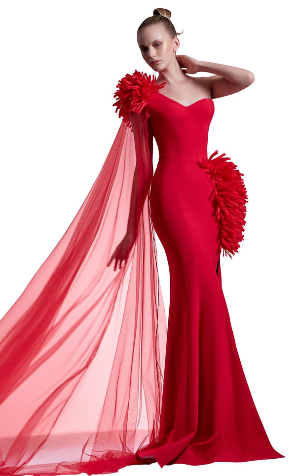 MNM Couture G1211 Dress Red