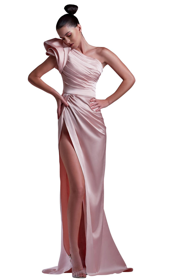 MNM Couture G1217 Dress Pink