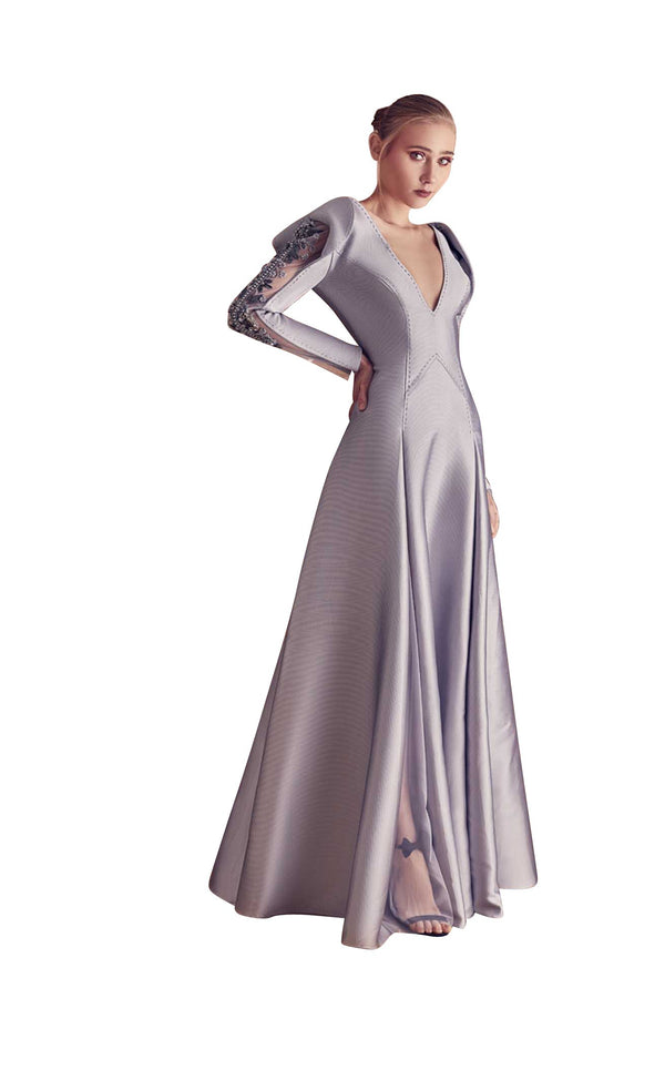 Gatti Nolli Couture GA5094 Dress Silver