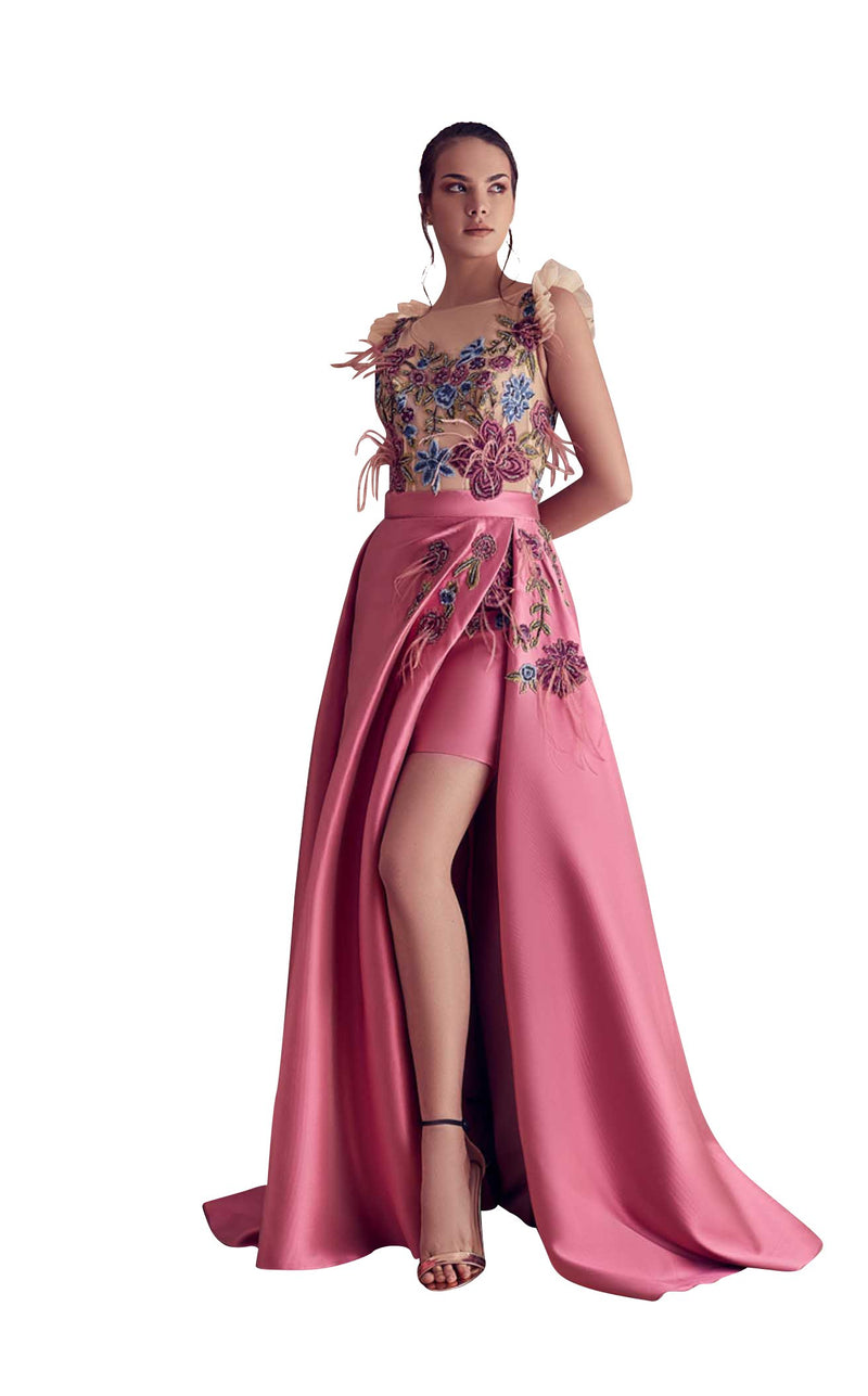 Gatti Nolli Couture GA5111 Dress Pink-Multi