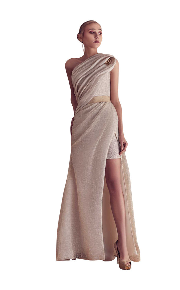 Gatti Nolli Couture GA5151 Dress Ivory-Gold