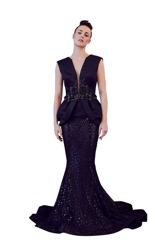 Gatti Nolli Couture GA5252 Dress Black