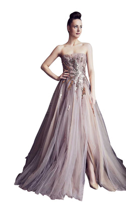 Gatti Nolli Couture GA5296 Dress Taupe