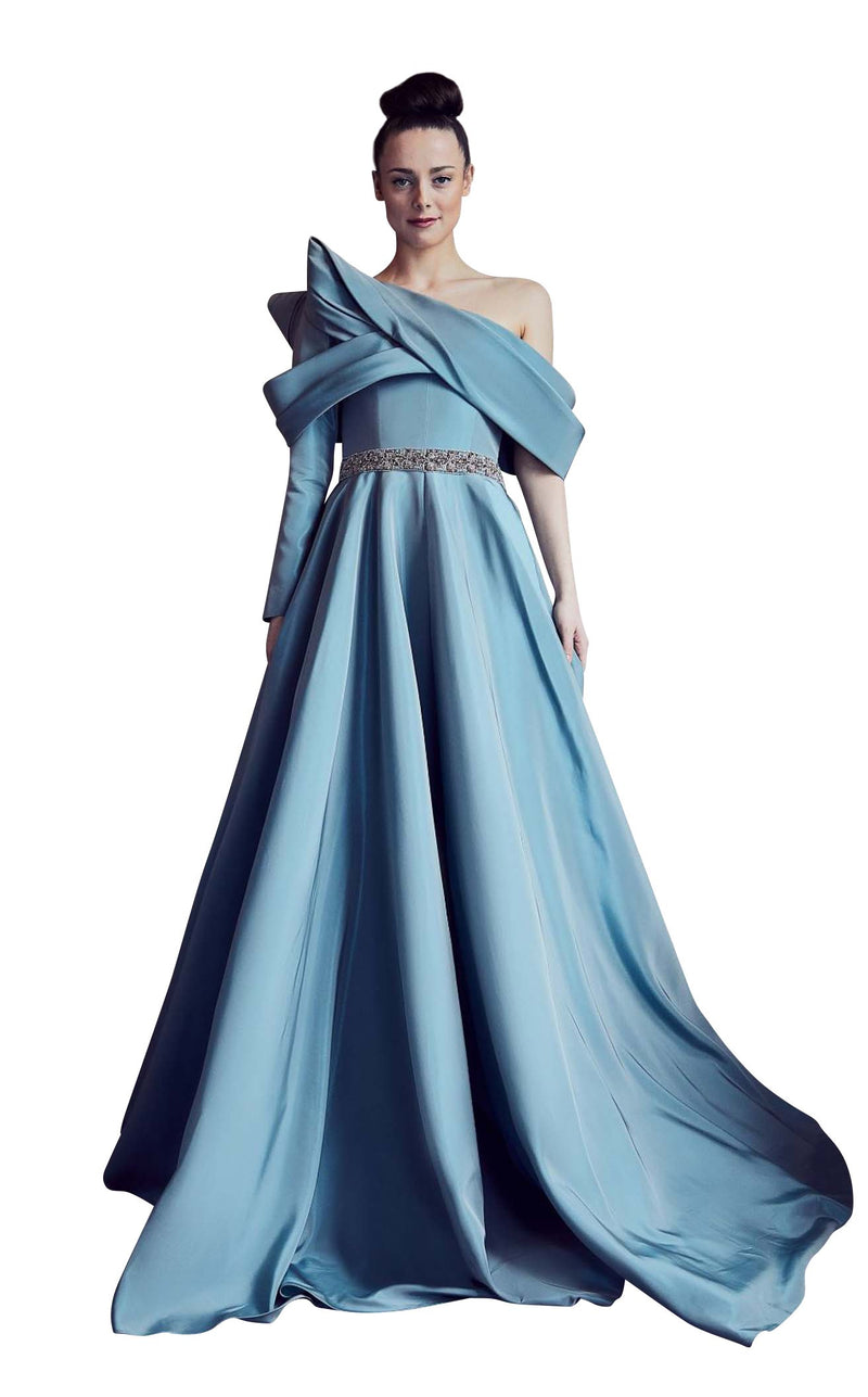 Gatti Nolli Couture GA5305 Dress Dusty-Blue