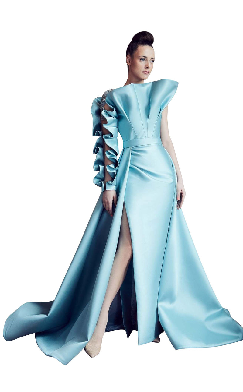 Gatti Nolli Couture GA5306 Dress Aqua