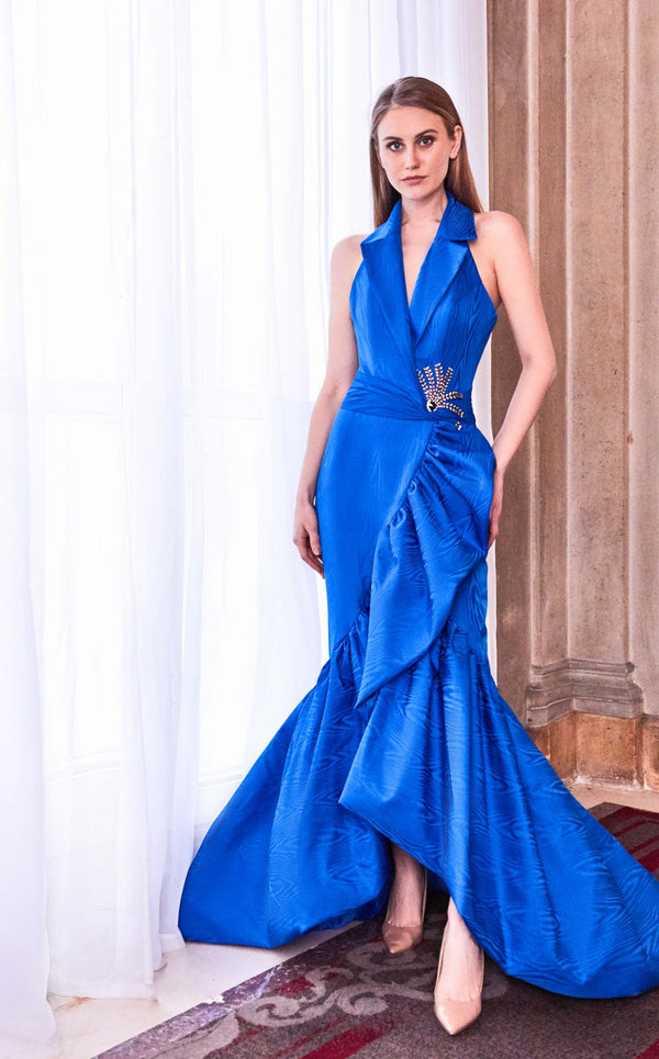 Gatti Nolli Couture GA5734 Dress Cerulean