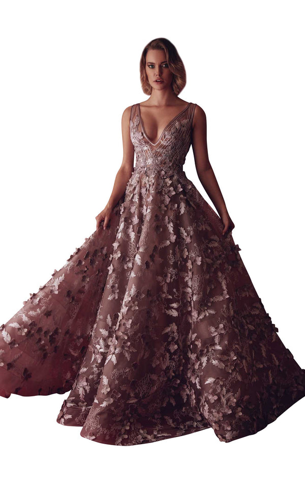 Gatti Nolli Couture GAD4904 Dress Dusty-Rose