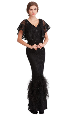Jadore J15007 Dress Black