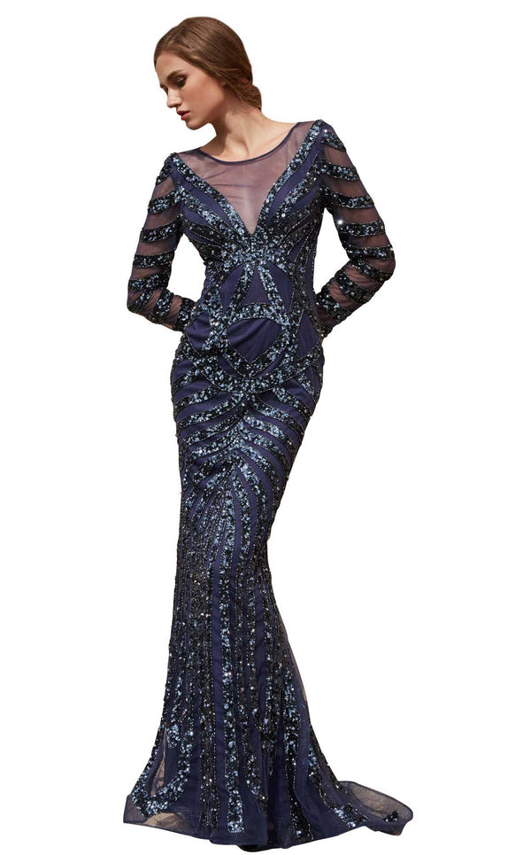 Jadore J15013 Dress Navy