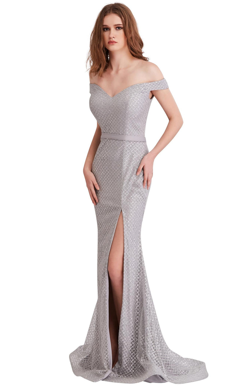 Jadore J15021 Dress Silver