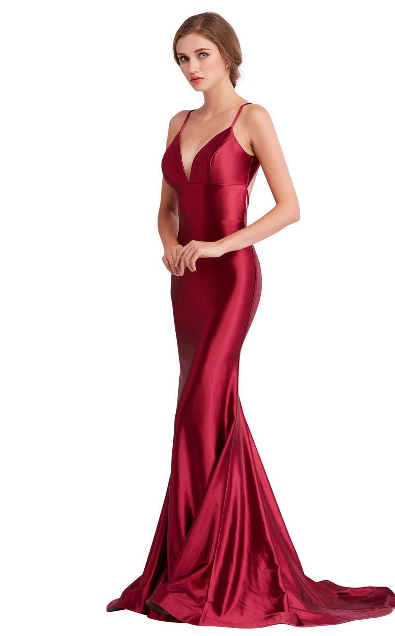 Jadore J15032 Dress Maroon