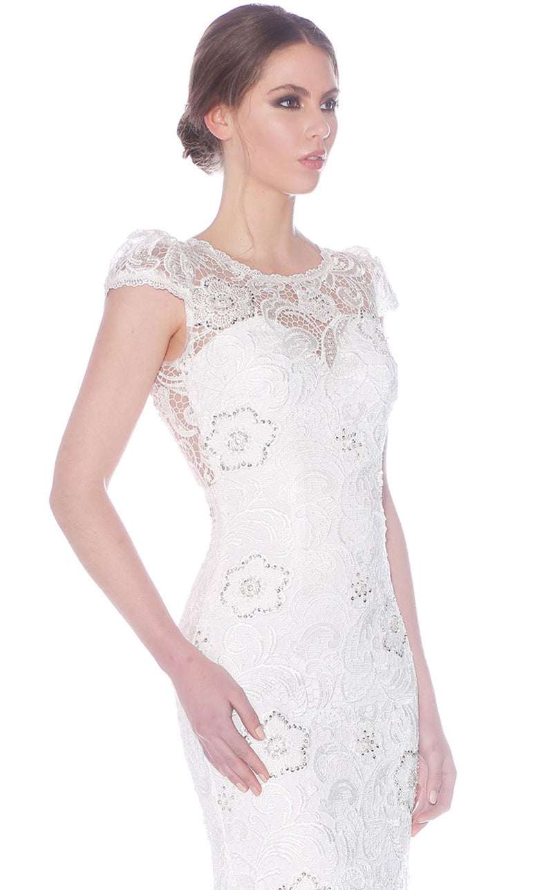 Jadore J5085B Dress Ivory
