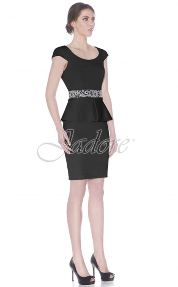 Jadore J7050 Dress Black