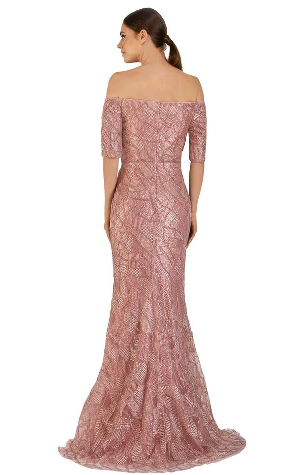 Janique JA5017 Dress Rose-Gold
