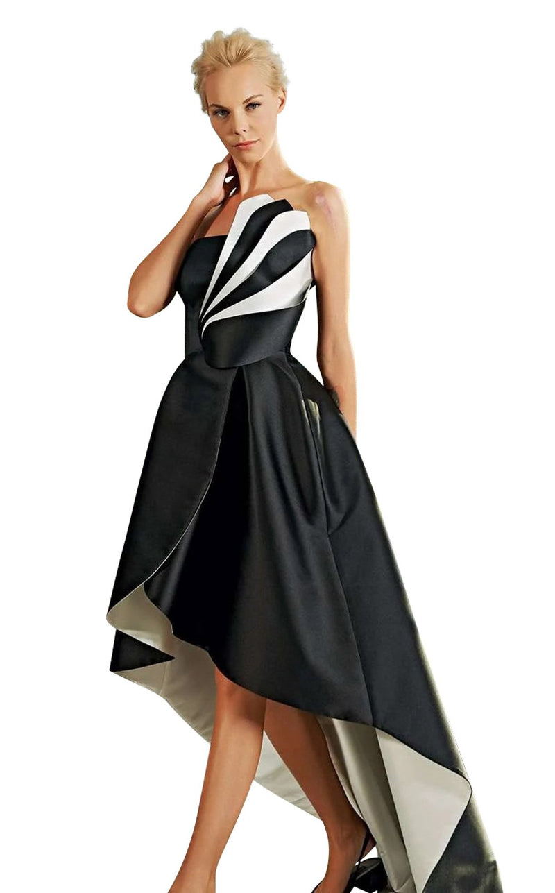 John Paul Ataker JPA20202112 Dress Black-White