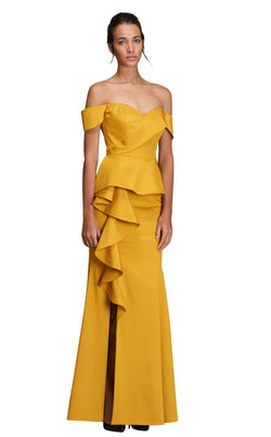John Paul Ataker JPA24281871 Dress Mustard