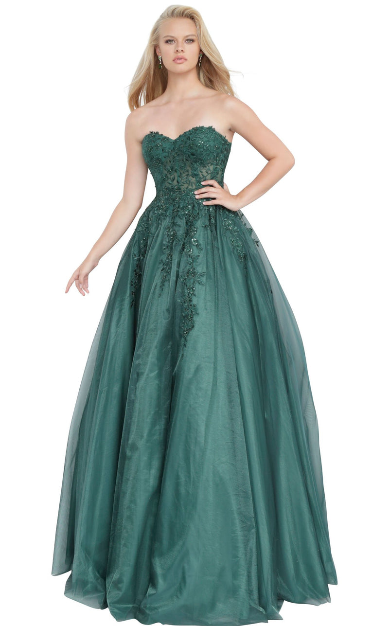 JVN JVN00915 Dress Emerald