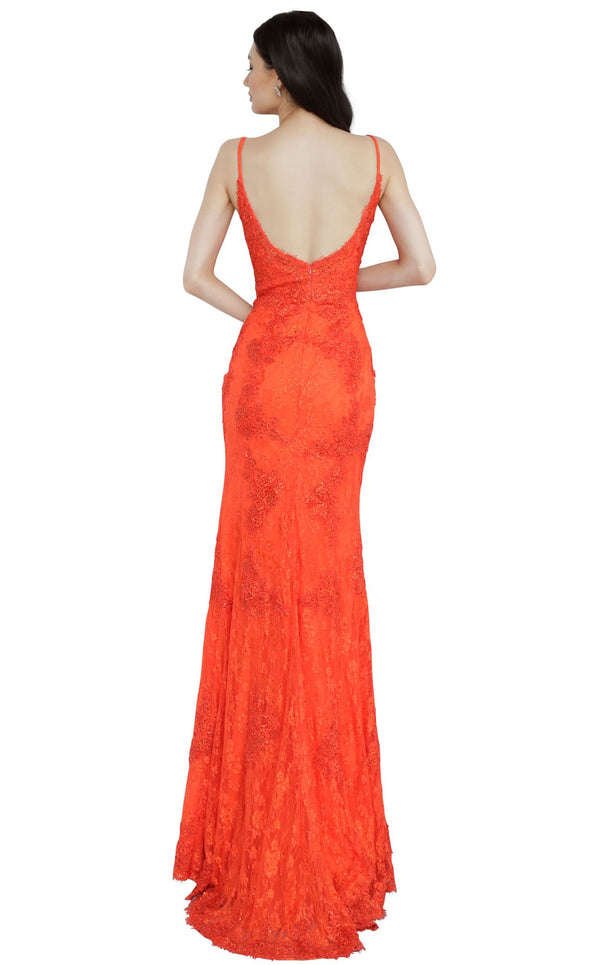 JVN JVN02013 Dress Red-Orange