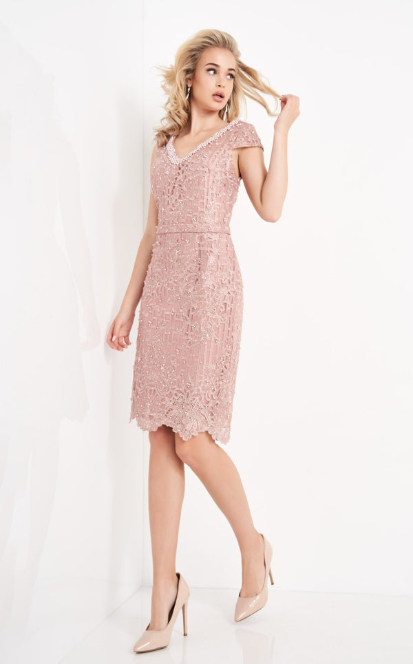 JVN JVN02246 Dress Mauve