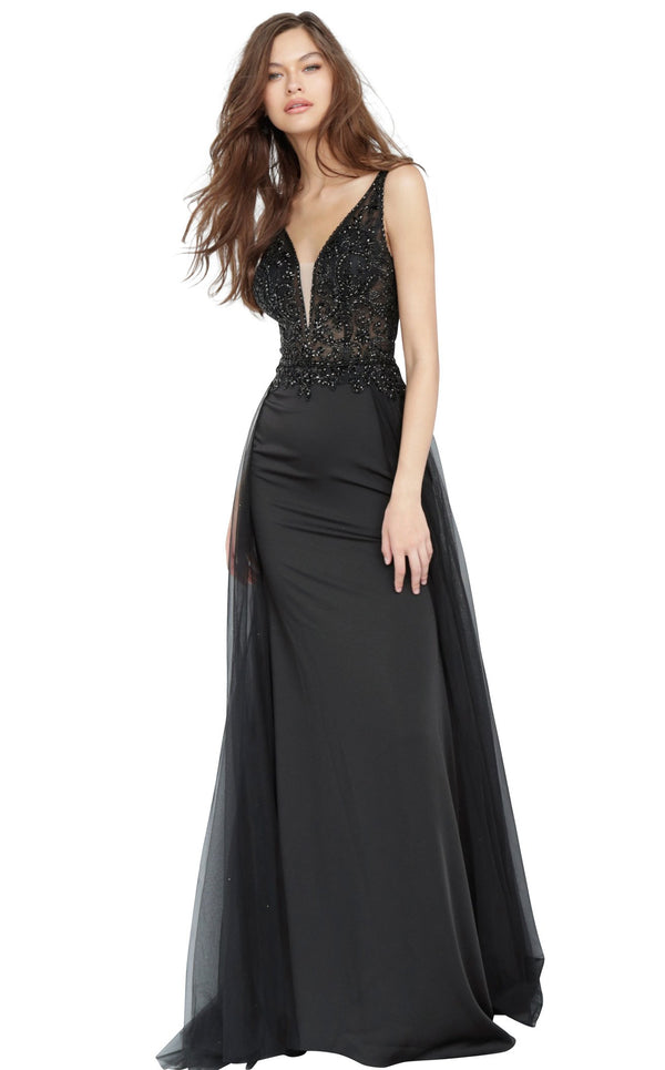 JVN JVN02253 Dress Black