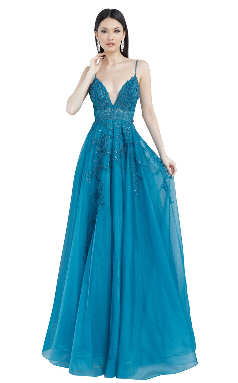 JVN JVN02266 Dress Teal