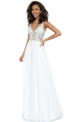 JVN JVN02308 Dress Off-White