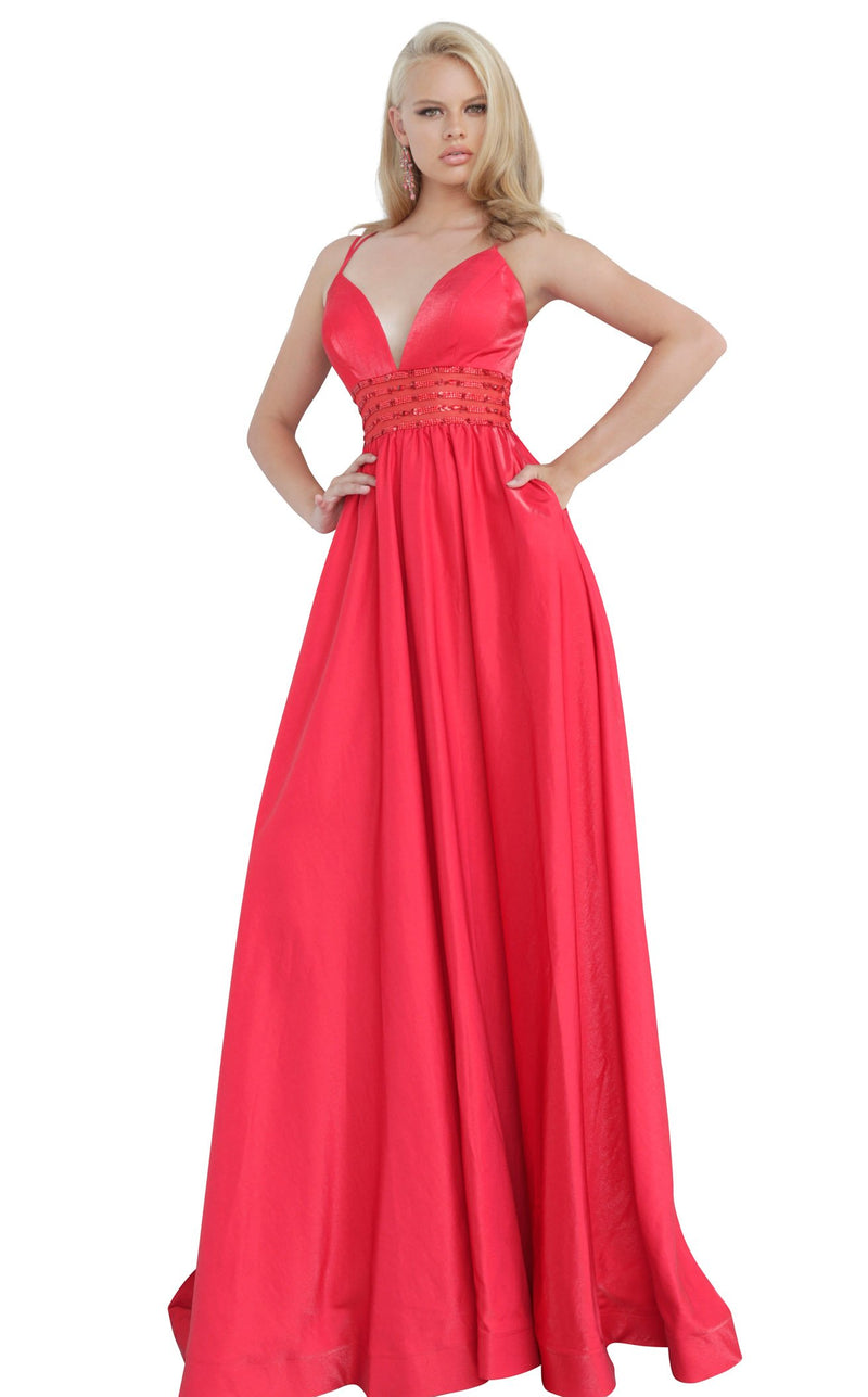 JVN JVN02386 Dress Red