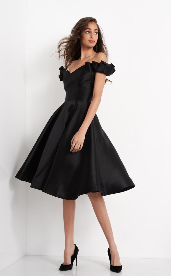 JVN JVN04718 Dress Black